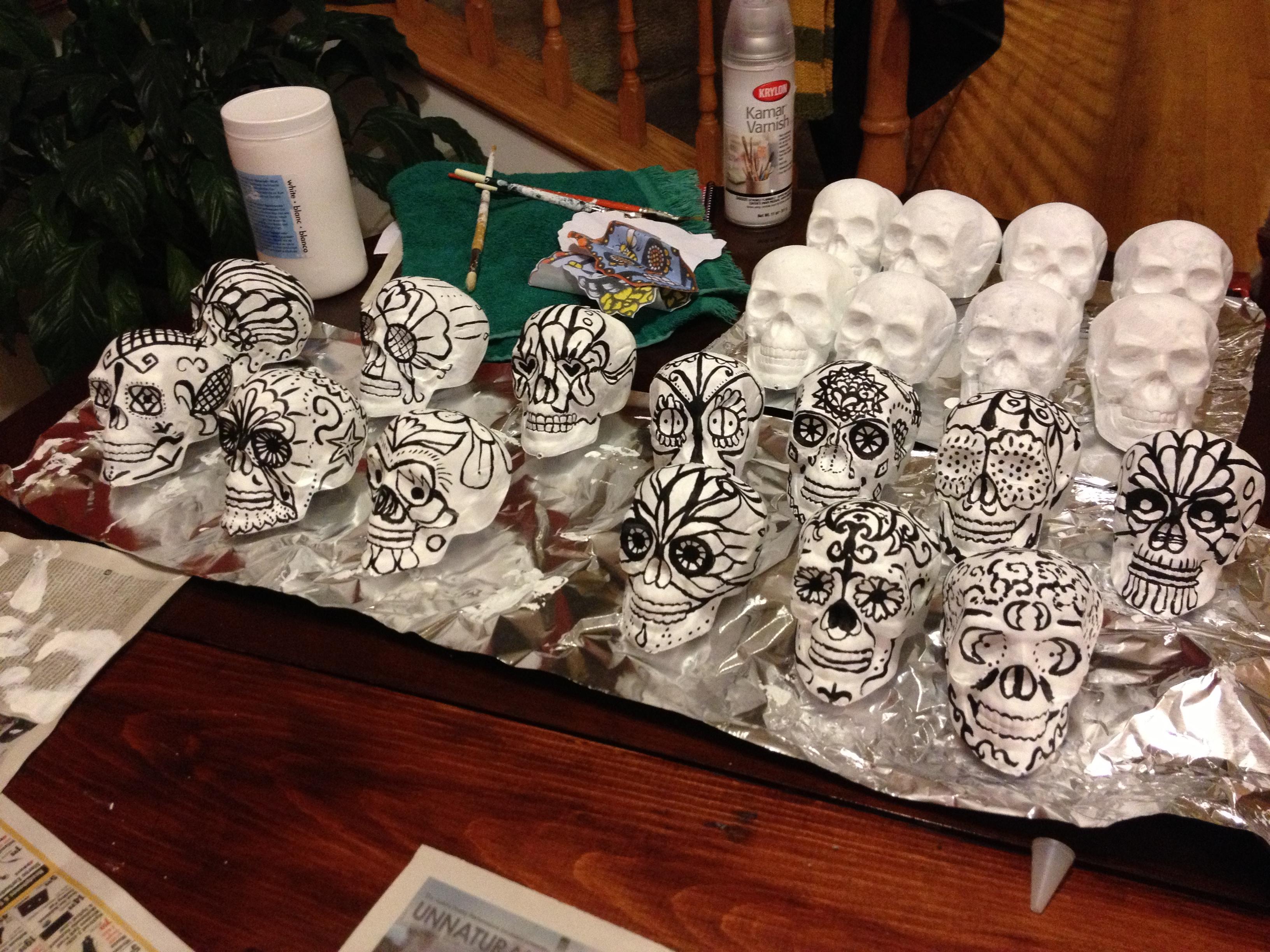 muerte midi skull prep